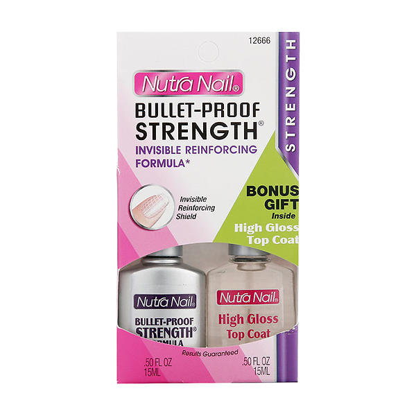 Nutra Nail Bullet-Proof Strength Formula 0.50 fl oz ...