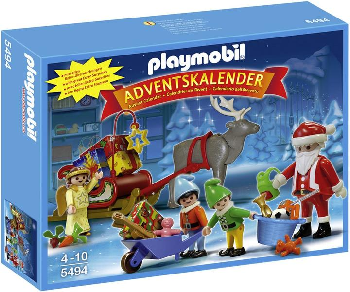 playmobil christmas 5494 tomtens verkstad adventskalender. Black Bedroom Furniture Sets. Home Design Ideas