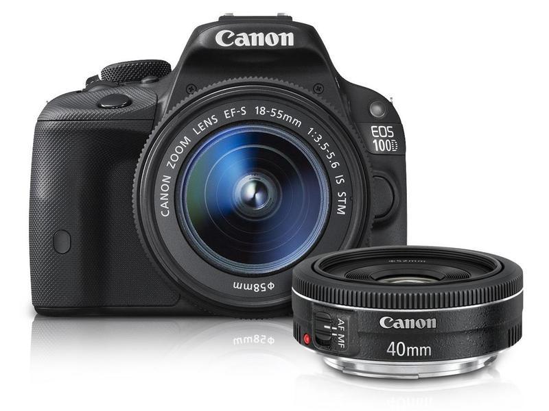 Canon EOS 100D + 40/2.8 + 18-55/3.5-5.6 IS STM price comparison - Find ...