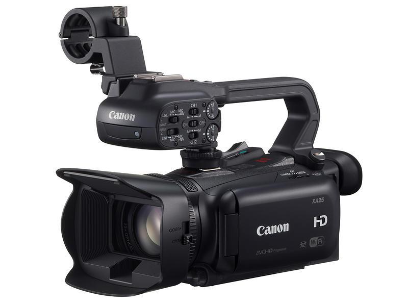 Canon XA25 - Videokamera - Hitta l�gsta pris, test och specs
