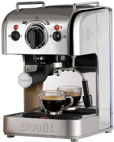 dualit coffee machine