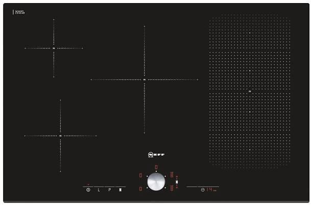 Neff t51t86x2 black price comparison find the best for Induktionsherdplatten