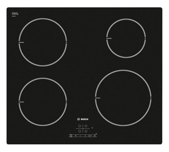 Bosch PIE611B68X (Musta) hintavertailu  Parhaat diilit Hintaoppaasta