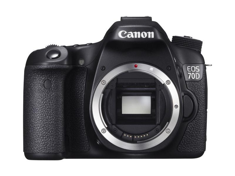 Canon EOS 70D - Digital systemkamera - Hitta l�gsta pris, test och ...