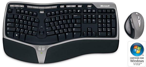 Microsoft Wireless Natural Ergonomic Desktop 7000 En