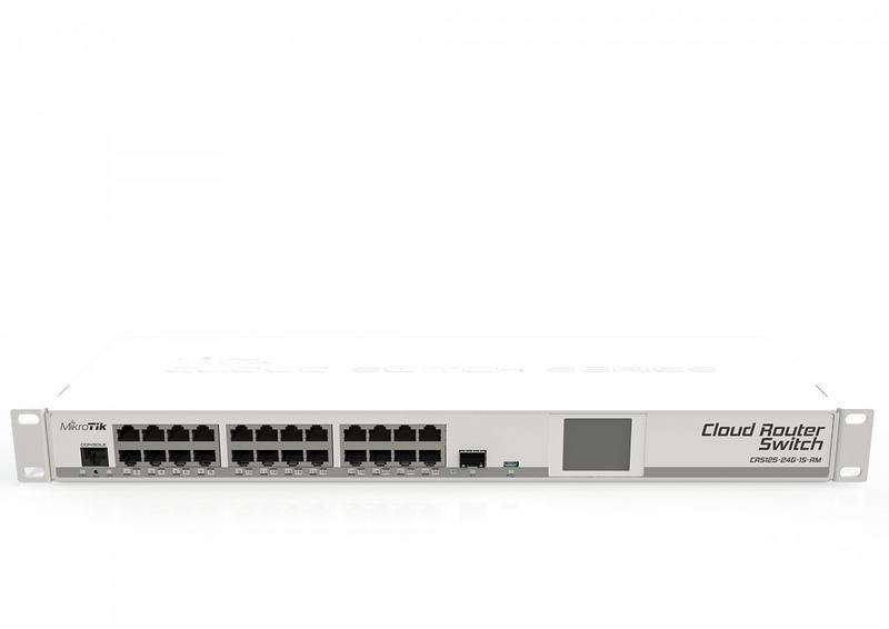 Review Of Mikrotik Cloud Router Switch Crs125 24g 1s Rm