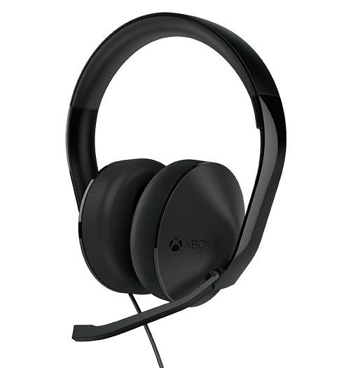 microsoft xbox one stereo headset headphone lowest. Black Bedroom Furniture Sets. Home Design Ideas