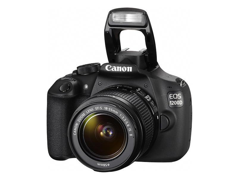 Canon EOS 1200D + 18-55/3,5-5,6 IS II - Digital systemkamera ...
