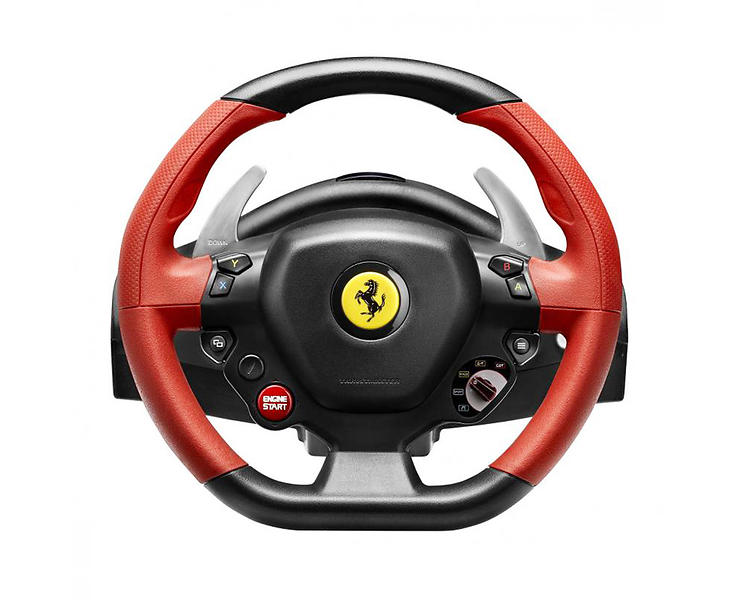 product details for thrustmaster ferrari 458 spider racing. Black Bedroom Furniture Sets. Home Design Ideas