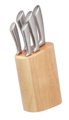 Kitchen craft master class sabre knife set 5 knives price for Kitchen craft knife set