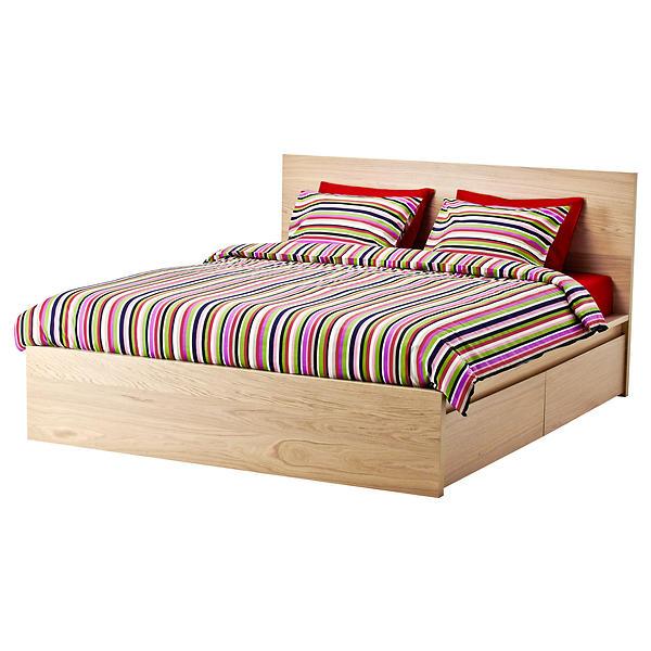Best pris på IKEA Malm Hög Sängstomme 160x200cm (med 4st sänglådor) Sammenlign priser hos Prisjakt