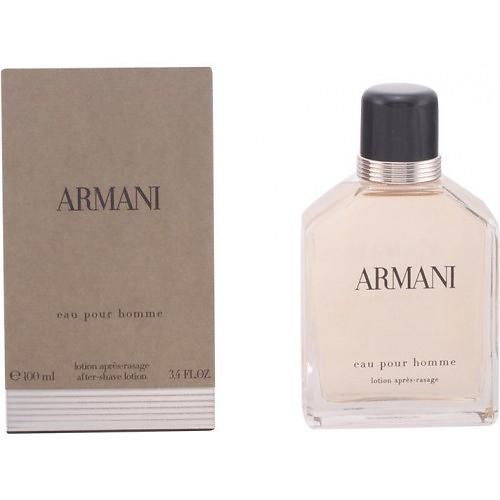 giorgio armani eau pour homme after shave lotion splash. Black Bedroom Furniture Sets. Home Design Ideas