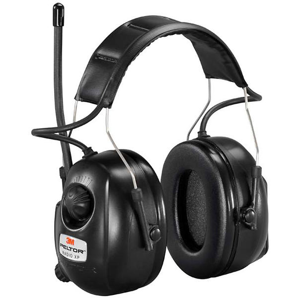 Hörselskydd med radio test