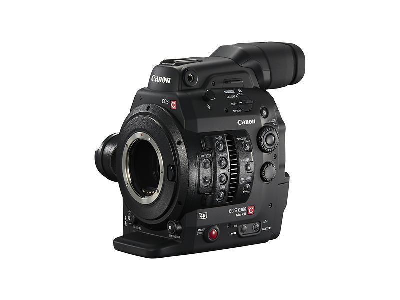 Canon EOS C300 EF Mark II - Videokamera - Finn lavest pris, test ...