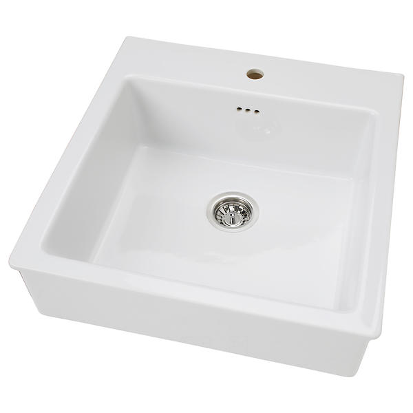 Domsj? vask ikea - Materialvalg for baderomsm?bler