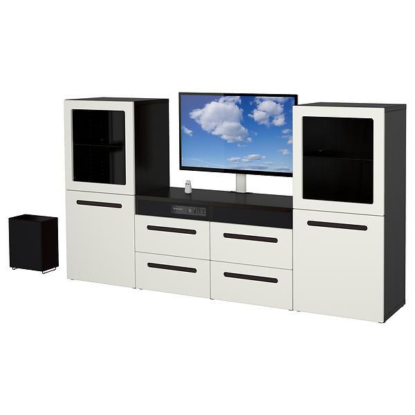 ikea best uppleva kombination tv 40 hifi m bel finn lavest pris test og informasjon. Black Bedroom Furniture Sets. Home Design Ideas