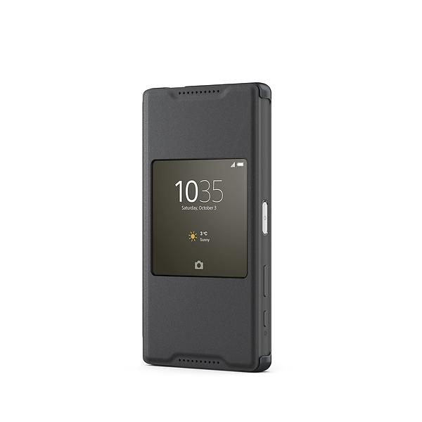 sony style cover window scr44 for sony xperia z5 compact. Black Bedroom Furniture Sets. Home Design Ideas