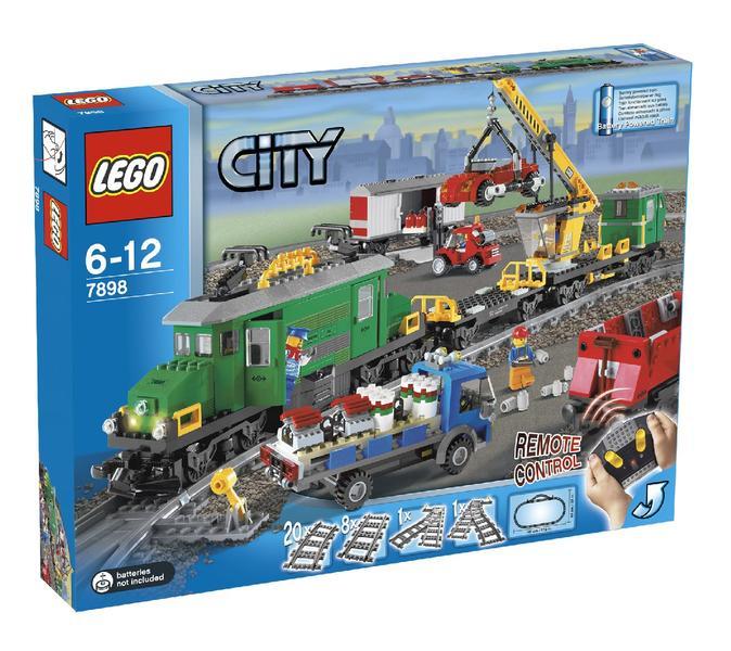 Lego Förvaring Huvud Stort ~ LEGO City 7898 Stort Godståg Deluxe price comparison Find the best deals on PriceSpy