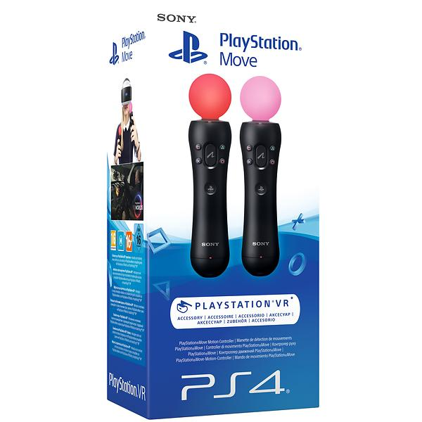 sony playstation move motion ps3 ps4 twin pack price. Black Bedroom Furniture Sets. Home Design Ideas