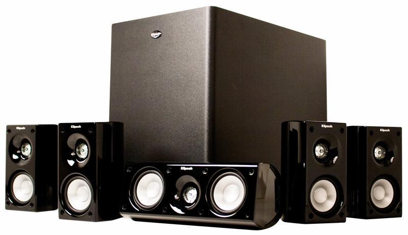 best pris p klipsch hd theater 500 sammenlign priser hos prisjakt. Black Bedroom Furniture Sets. Home Design Ideas