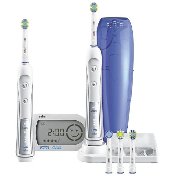 price history for oral b braun triumph 5000 flossaction duo find the best price. Black Bedroom Furniture Sets. Home Design Ideas