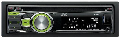 JVC KD-R422 - visar priser.  Jämför Bil-multimedia huvudenheter sida vid sida.