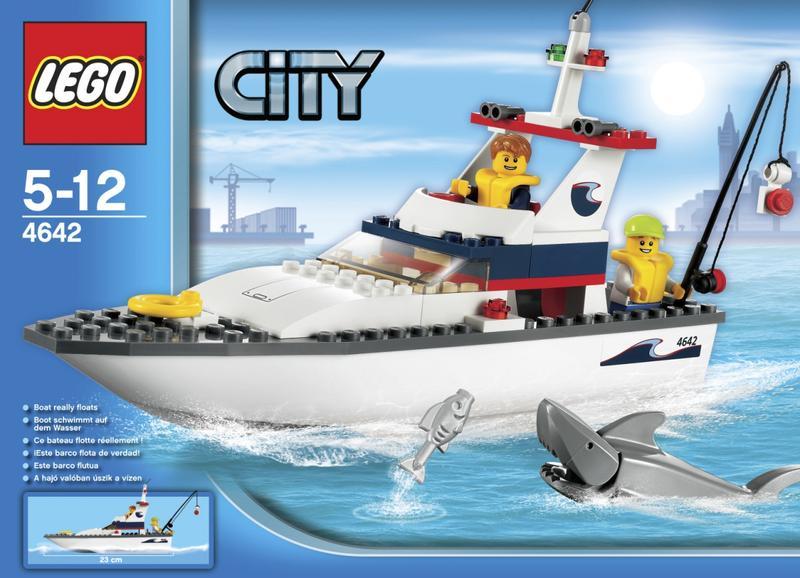 Lego City Fishing Boat 4642 Price Comparison Find The